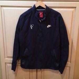 Rodger Federer nike tech fleece jacket L